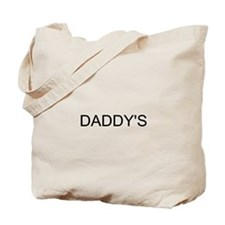 DADDY'S LITTLE GIRL (F&B) Tote Bag