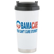 Obamacare Ceramic Travel Mug