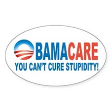 Obamacare Oval Decal