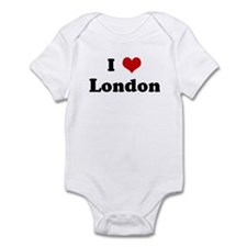 I Love London Infant Bodysuit
