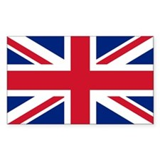 Sticker with British Flag - the Union Jack (10)