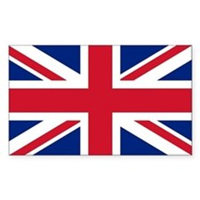Sticker with British Flag - the Union Jack