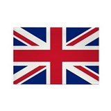 Funny Great britain Rectangle Magnet (10 pack)