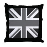Black and white, Union Jack pillow.