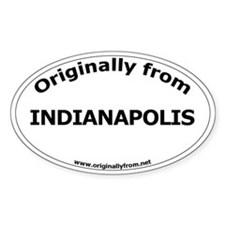 Indianapolis Oval Decal