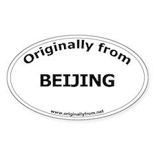 Beijing Oval Decal