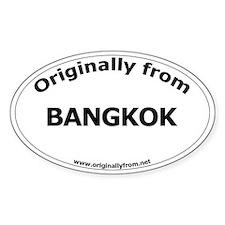 Bangkok Oval Decal