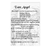 Angel Mihdael Postcards (Package of 8)