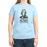 Sam Adams Tea Party Women's Light T-Shirt