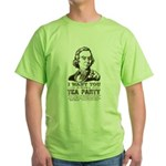 Sam Adams Tea Party Green T-Shirt