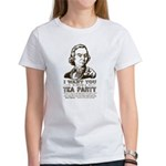 Sam Adams Tea Party Women's T-Shirt
