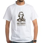 Sam Adams Tea Party White T-Shirt