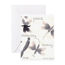 Cute Tranquility Greeting Card