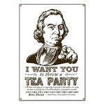 Sam Adams Tea Party Banner