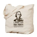 Sam Adams Tea Party Tote Bag
