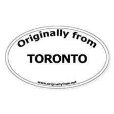Toronto Oval Decal