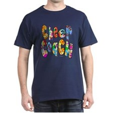 Patterned Cheer Coach T-Shirt