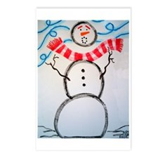 Frosty in the Wind Postcards (Package of 8)
