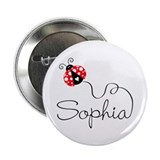 Ladybug Sophia 2.25&amp;quot; Button