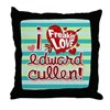 I Freakin LOVE Edward Cullen Throw Pillow
