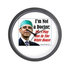 """""""Your New Doctor"""" Wall Clock"""