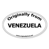 Venezuela Oval Decal