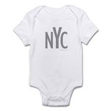 NYC (Grey) - Infant Creeper