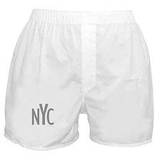 NYC (Grey) - Boxer Shorts