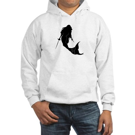 Rogue Mermaid: Hooded Sweatshirt