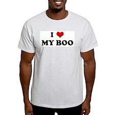 I Love MY BOO T-Shirt