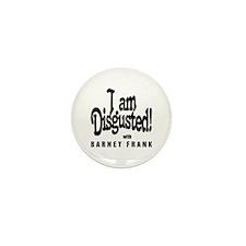 Cute Barney frank Mini Button (10 pack)