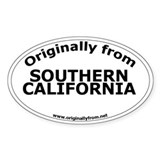 Southern California Oval Decal