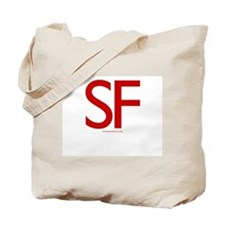 SF (Red) - Tote Bag