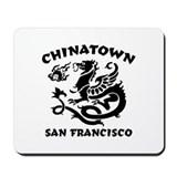 Chinatown San Francisco Mousepad