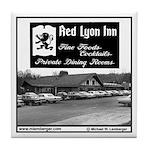 Red Lyon Inn Tile Coaster