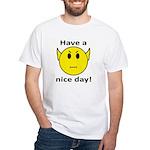 Vulcan Smiley White T-Shirt