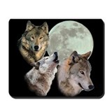 New Moon Wolf Mousepad