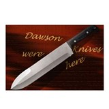 Funny Knives Postcards (Package of 8)