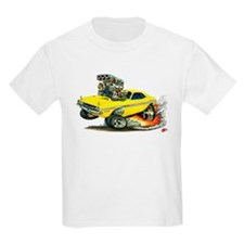 Dodge Challenger Yellow Car T-Shirt