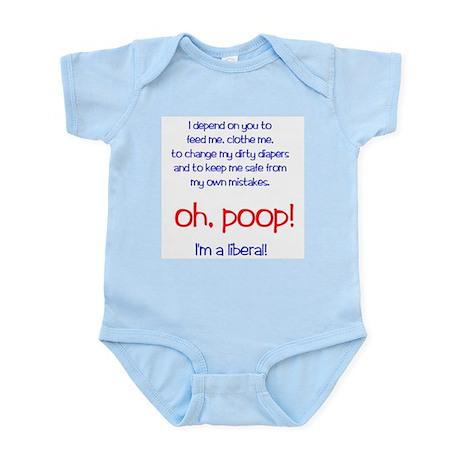 """""""Lib Bib"""" (TM) Infant Bodysuit"""