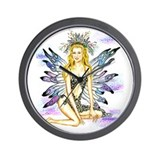 McKenna Fairy Wall Clock