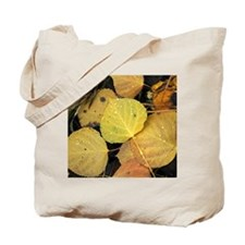 Tote Bag - Aspen Leaves