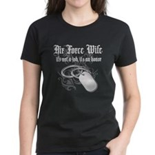 Air Force Wife - It's not a J Tee