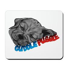 Cuddle Puggle Mousepad