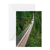 Capilano Suspension Bridge Greeting Card