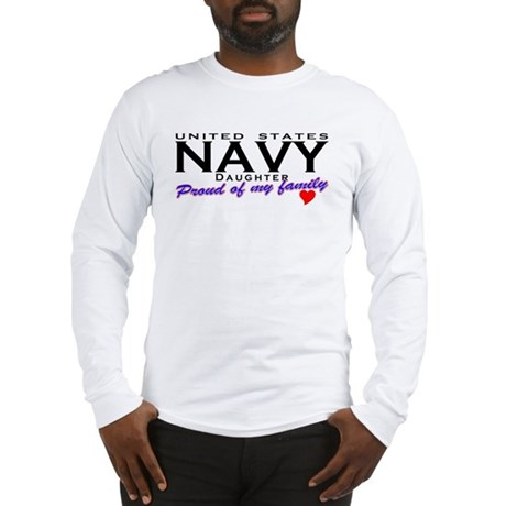 US Navy Daughter Long Sleeve T-Shirt