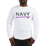 US Navy Daughter Long Sleeve T-Shirt
