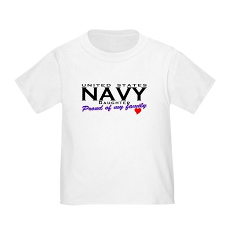 US Navy Daughter Toddler T-Shirt