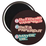 "New Moon Papercut 2.25"" Magnet (100 pack)"