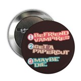 "New Moon Papercut 2.25"" Button (10 pack)"